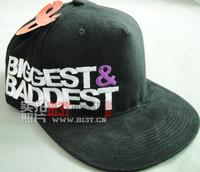 2014 A108 limited edition biggest baddest bboycap hiphop hip-hop baseball cap flat