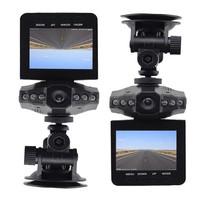 "Cheap Car DVR Recorder 720P HD Car Camera Car Black Box with 2.5"" LCD 6 LED Night Vision 270 Degree Rotatable Screen Dashcam"