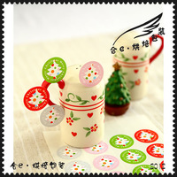 packing merry christmas stickers 1000pcs