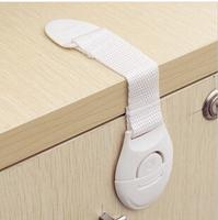 2014 new  Lengthened Multi-function bendy Fridge Cabinet Door locks Drawer Toilet Safety Plastic Lock Care For Child Kids baby