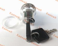 231 Push Type Single Glass Door  Lock Showcase Lock Cabinet Lock Keyed different