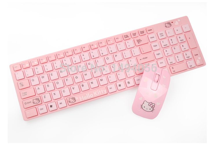 Hello Kitty Wireless Keyboard Hello Kitty Keyboard And Mouse