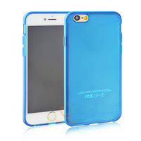 50pcs/lot Crystal Clear Transparent Soft 0.3mm TPU Case for iPhone 6 Plus 5.5'' Cases Cover Shell DHL Free Shipping