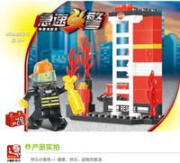 Without Origin Box Sluban M38 - B0216 Rapid Fire - Brave Firefighters Creativity Training Series