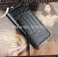 2015 Women's Fashion Christmas Patent Leather Wallets,Brand New Crocodile PU Purse,High Quality Shining Alligator Notecase,SJ113