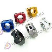 "CNC aluminum alloy Handlebar Clamp  11/8"" to 7/8"" Universal Bar 28mm Clamps Dirt Bike Adapter Free Shipping"