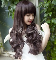 2014 fashion heat resistant artificial hair synthetic wigs