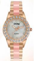 Dom brand watch women dress watches ladies ceramic quartz watch women wristwatches woman casual fashion luxury watch relogio