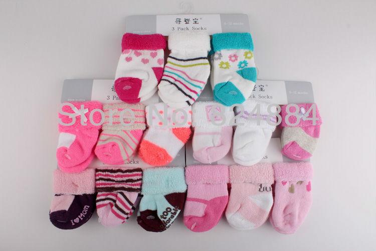 Носки для девочек 6pair/luvable 3 /, 0/12months