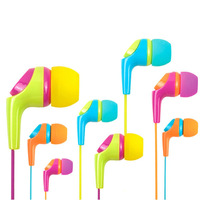 Awei Q6i young High quality In-Ear Earphone for Iphone Samsung HTC Xiaomi,Clear Bass with Mic Headset Headphones,Free shipping