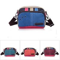NEW Arrival Women Handbag Shoulder Bag Lady Canvas Bags Blue Green Orange Red Color