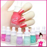 5PCS/LOT Nail Cosmetic Nontoxic Polish Tasteless Nail Polish Candy-colored Nail Art Matte