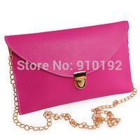 2014 new packet chain envelope bag multicolor female Shoulder Messenger Bags specials
