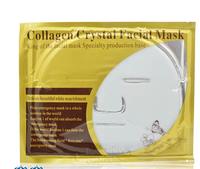 2014 Mask Mask Whitening Moisturizing pores blackhead acne Crystal Collagen Mask 10 skin care products wholesale free shipping