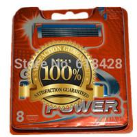Free Shipping High Quality  hot Grade AAA 16P/L Men's Razor Blades FP5 5-Blade shaving razors series blades  Retail packaging