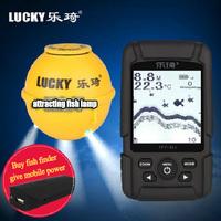 2014 new sonar fish finder Wireless charge waterproof detector visual water fish fishing tackle fishing sounder free shipping