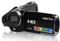 2014 new arrivals Rich v-r580 for hd digital video camera filmadora hd pixels multifunctional camera  Free shipping