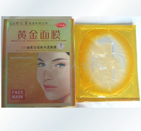 2014 Golden Mask Crystal Collagen Whitening Mask up 10 skincare wholesale free shipping