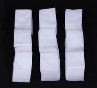 Hot 900pcs Cotton Lint Pads Paper Nail Tools/Nail Polish Remover Wipes Nail Art Tips Manicure/Nail Art Equipment