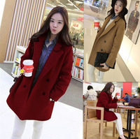 women coat winter fashion 2014 free size parka solid color jackets women free shipping hot selling