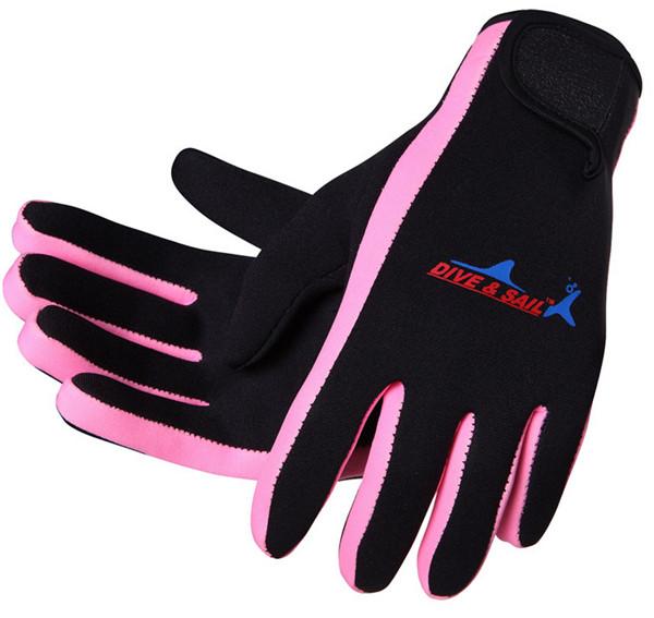Hot Sale Scuba Wetsuit Diving Surfing Snorkeling Kayaking Winter Swimming Gloves 1.5MM Neoprene Skid-proof(China (Mainland))