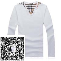 2015+Men's long Sleeve T Shirt slim fit,brand shirts for men,designer shirts,4XL boy london shirt Large in stock