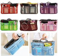 Lady Cosmetic Makeup Bag Women Organizer Handbag Tidy Travel Bag Insert Pouch