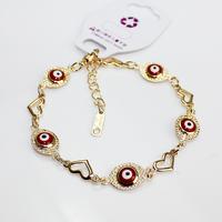 Aliexpress Wholesale Top Quality Brand Fashion Evil Eye Bracelet Jewelry Women Jewellery Gold Accessories