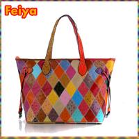 Free Shipping New 2015 Fashion Women Leather Handbag Vintage Handbag Messenger Bag Shoulder Bag Women Handbag