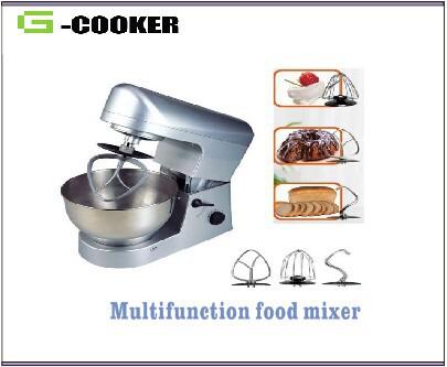 multifunctional stand mixer 5L food mixer machine dough mixer machine 5L with 450W(China (Mainland))