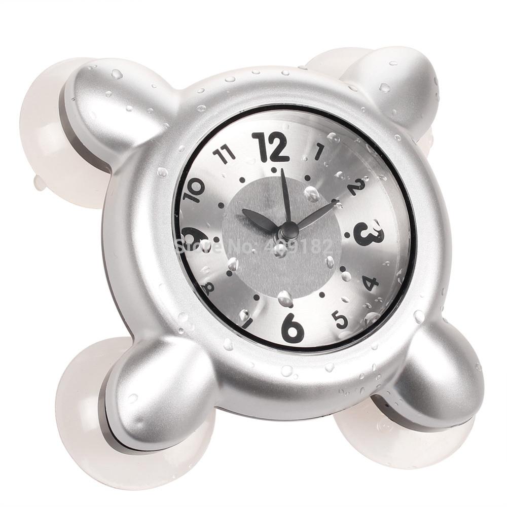 Shop popular small bathroom clocks from china aliexpress for Bathroom clock ideas