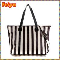 Free Shipping New 2015 Fashion Women Handbag Stripes Designers Shoulder Bags Genuine Leather Women Messenger Bag