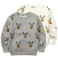 Baby sweatshirt autumn pullover 2014 children's clothing children print child clothes male child sweatshirt