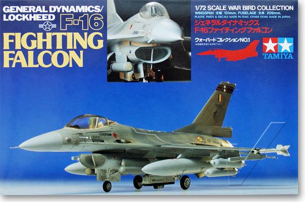 Tamiya 1/72 60701 General Dynamics/Lockheed F-16 Fighting Falcon Plastic Model Kit Free Shipping(China (Mainland))