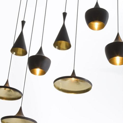 Orchid Pavilion potential Tom Dixon beat ABC creative musical lamp modern minimalist restaurant lamp chandelier bar(China (Mainland))