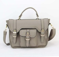 H029(grey),Hot Sale Women's Messenger Bag ,PU,12 different colors,Interior Structure 3 small pocket,Free shipping