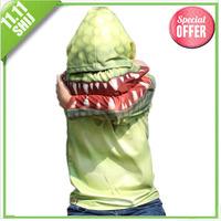 1202 shij191 hot sale kids' t shirt  Crocodile cartoon long sleeve cotton boys girls hoodies  retail clothing