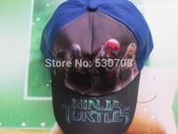 Free shipping New arrived dhl 200 pcs/lot Teenage mutant ninja turtles Cap/ baseball cap, summer cap kids hats,