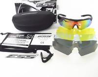 5 Pairs Lens Revo Fire Iridium ESS Crossbow Outdoor Sports Tactical Army Bullet-proof goggles sunglasses eyewear