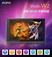 8 inch PiPO W2 Windows 8.1 Tablet PC Intel Baytrail T Z3735D Quad Core 64 Bit 2G RAM HDMI PIPO Work-W2  Bluetooth HDMI DHL UPS