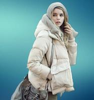 2014 new winter women's down jacket women short caot  military style free shipping plus size xxxl