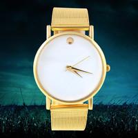 Casual Business Men Quartz watch Gold Steel Wristwatch Analog Fashion Men Watches Clock New Designer 2014 Cheap Sale