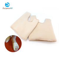 Gel sleeve Feet Care hallux valgus correction protector orthotics toe separator Straighteners stretchers alignment bunion Pain