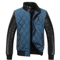2014 New Arrival Men's Winter Coat Padded Jacket Autumn Winter Out wear Men's Casual Coat, A040