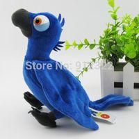 "Rio 2 Movie Plush Stuffed Toy 6"" Blue Macaw soft birds doll,free shipping"