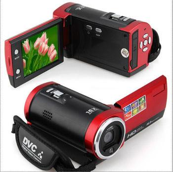 """16MP цифровой камеры 16X цифровой зум 2.7 """" SD красный"""