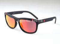 Hot Designer Acetate Sunglass Fashion Sunglasses Men/Women's Brand Sunglass Black Frame Fire Iridium Lens 58mm Polarized