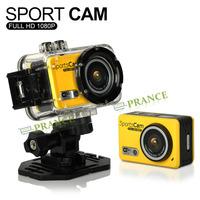 Action Camera Full HD DVR Sport DV Wifi 1080P Helmet Waterproof Camera Motor Mini DV with Loop Recorder Date Stamp C3-0