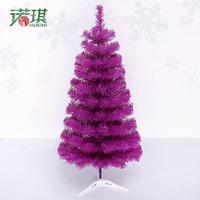 90cm Small Purple Desktop Christmas Tree, free shipping