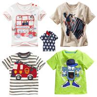 Children T shirt  Kids Boy Girl Brand Cartoon Print Princess Cotton Tee Babi Clothes Toddler Tops Child Clothing Fashion Summer